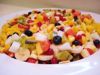 Compote van verse vruchten
